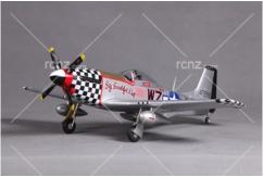 "FMS - P-51 Mustang ""Big Beautiful Doll"" PNP 800mm Wingspan image"