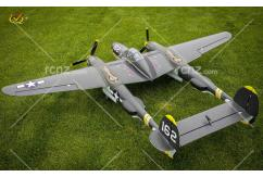 VQ Model - P-38 Lightning Twin Olive EP/GP 46 Size ARF Kit image