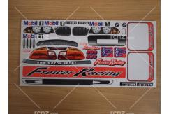 Frewer - 1/10 BMW Motorsport Sticker Set image