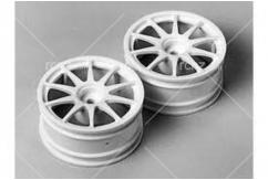 Tamiya - 10 Spoke 1-piece Wheels (28mm) 2pcs image