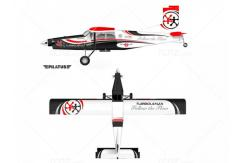 VQ Model - Pilatus PC-6 Turbo Lenza Version EP/GP 46 Size ARF Kit image