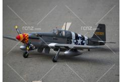 "VQ Model - P-51B Mustang ""Berlin Express"" 46 Size ARF image"
