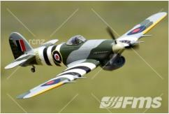 FMS - Hawker Typhoon PNP 1100mm Wingspan image