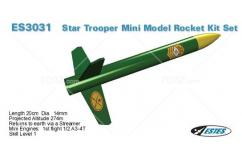 Estes - Star Trooper Mini Model Rocket Kit image