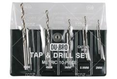 Dubro - 10PC Metric Tap/Drill Set image