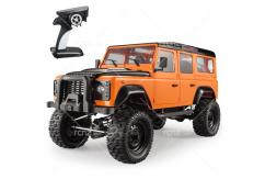 Double Eagle - 1/8 Land Rover Defender D110 Crawler RTR - Orange image