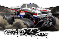HPI - 1/10 Savage XS Flux El Camino Monster Truck Readyset image
