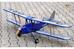VQ Model - DH-82 Tiger Moth EP/GP 46 Size ARF - Dark Blue image