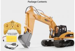 HuiNa - 1/12 R/C Excavator 15 Channel 2.4G image