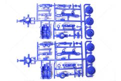 Tamiya - TT-02 A Parts Upright Blue image