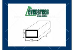 Evergreen - Styrene Rectangular Tube 6.4x9.5mm (2) image