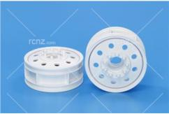 Tamiya - 22mm Front Wheels White (2pcs) image