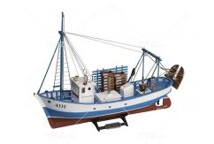 Artesania - 1/35 Mare Nostrum Fishing Trawler Wooden Kit image