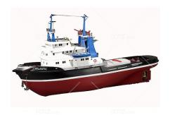 Artesania - 1/50 Atlantic Tug Boat Kit (R/C Capable) image