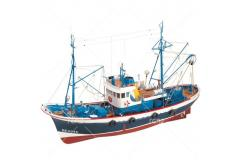 Artesania - 1/50 Marina II Wooden Fishing Boat Kit (RC Capable) image