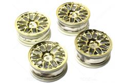 Tamiya - Gold Plated Mesh Wheels +2 (4 pcs) image