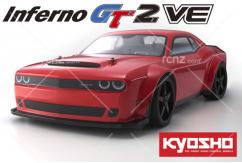Kyosho - 1/8 Inferno GT2 VE Dodge Challenger SRT Demon 4WD EP Readyset image