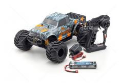 Kyosho - 1/10 Monster Tracker 2WD EP Truck RTR - Orange image