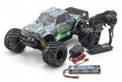Kyosho - 1/10 Monster Tracker 2WD EP Truck RTR - Green image