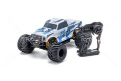 Kyosho - 1/10 Monster Tracker 2.0 2WD EP RTR (Blue) image