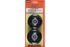 Dubro - 3 Inch Threaded Light Wheels image
