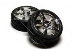 Tamiya - 5 Spoke Wheel With Tyre 24mm/0 image