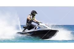 Kyosho - 1/6 Wave Chopper Jet Ski EP Readyset - Blue image