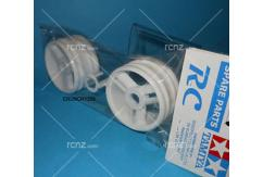 Tamiya - NDF-01 3 Spoke Wheels White (2 pcs) image