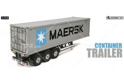 Tamiya - 1/14 40ft Maersk Container Trailer image