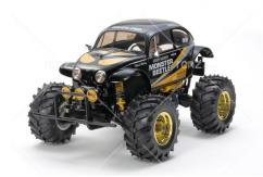 Tamiya - 1/10 Monster Beetle 2015 Black Edition Kit image