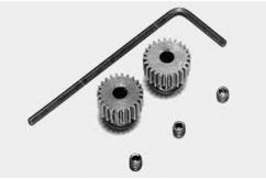 Tamiya - 0.4 Aluminium Pinion (38/9) for 53403  image