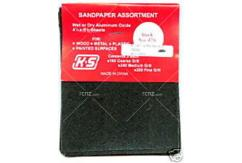 K&S - Wet/Dry Sandpaper 180, 240 & 280 image