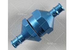 Dubro - In Line Fuel Filter Blue image