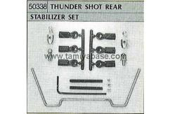 Tamiya - Thundershot Rear Stabiliser Set image