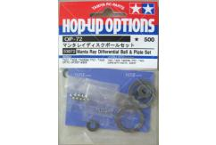 Tamiya - Manta Ray Differential Ball & Plate Set image