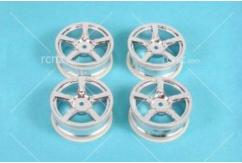 Tamiya - 5 Spoke Plated Wheel 24mm image