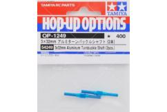 Tamiya - 3x32mm Aluminium Turnbuckle Shaft (2pcs) image