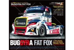 Tamiya - 1/14 Buggyra Fat Fox Racing Truck TT-01E Kit image
