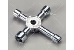 Dubro - 4 Way Socket Wrench W/KP image