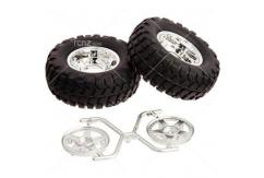Tamiya - 5 Spoke CC-01 Rock Block Tyres ( 2 pcs) image