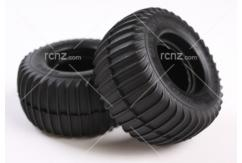 Tamiya - Grasshopper Rear Tyre Set - Pair image