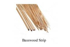 "Midwest - Basswood Strip 1/2"" (12.5mm) Square - 24"" (10pcs) image"