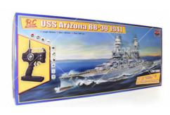 Trumpeter 1/200 USS Arizona R/C Battleship Kit with Radio Set image