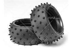 Tamiya - Wide Stud Spike Tyre Set image