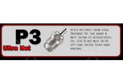 O.S -  #P3 Turbo Glow Plug V-Spec Ultra Hot Off-Road image
