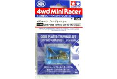 Tamiya - 4WD Mini Racer Gold Plated Terminal Set image