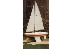 "Dumas - Huson 24"" Wood Yacht Wooden Kit image"
