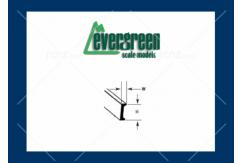 Evergreen - Styrene Channel 35cm Long x 6.3mm (3) image