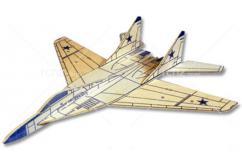 West Wings - Profile Mig 29 Fulcrum Glider Balsa Wood Kit image
