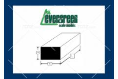 Evergreen - Styrene Strip White 6.3mm SQ3 (1) image
